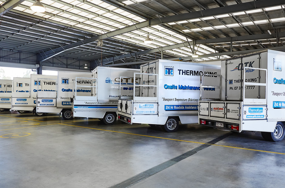Thermo King onsite Maintenance Vehicles - QTK