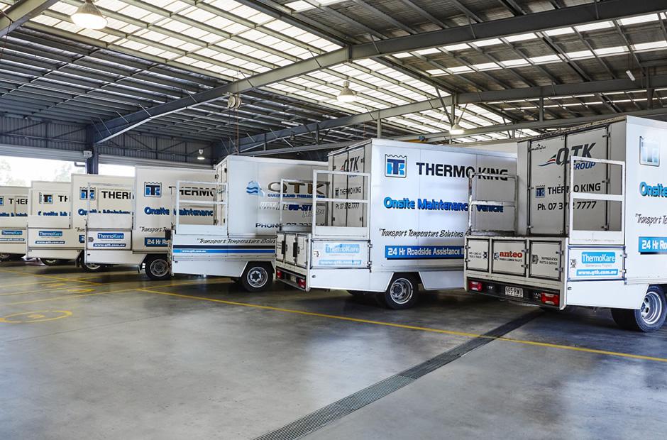 Thermo King onsite Maintenance Vehicles - QTK