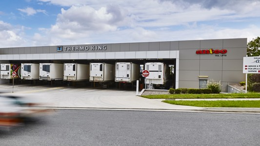 QTK Truck Bays at Southern States Group Queensland Headquarter