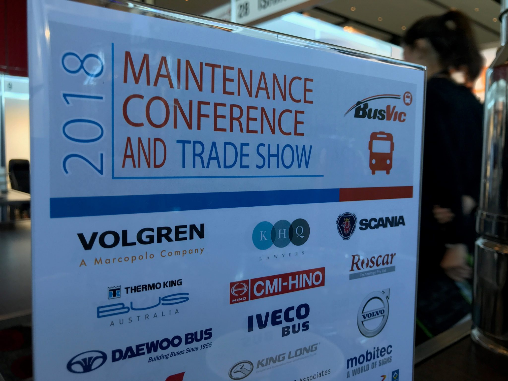 2018 BusVic Maintenance Conference and Trade Show Pullman Albert Park Melbourne